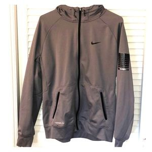 Men's Nike Therma-Fit Basketball Zip Up Jacket